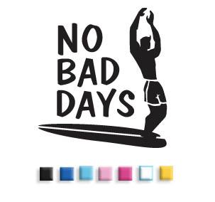 No Bad Days Longboard Surfer
