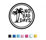 No Bad Days Decals