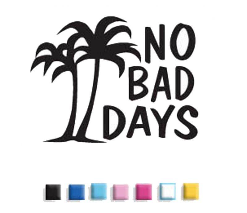 No Bad Days Original Palms Decal